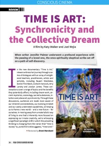 Time is Art, Film Review, New Consciousness Magazine