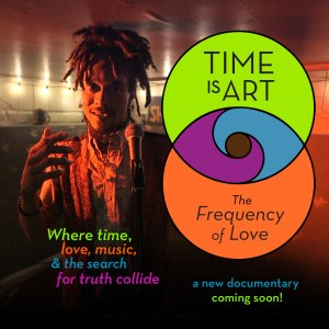 time is art, omboy rome, cosmic music, conscious rap, vegan rapper