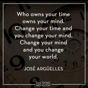 jose arguelles, time is art