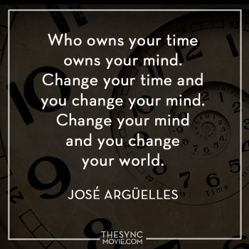 jose arguelles, time is art