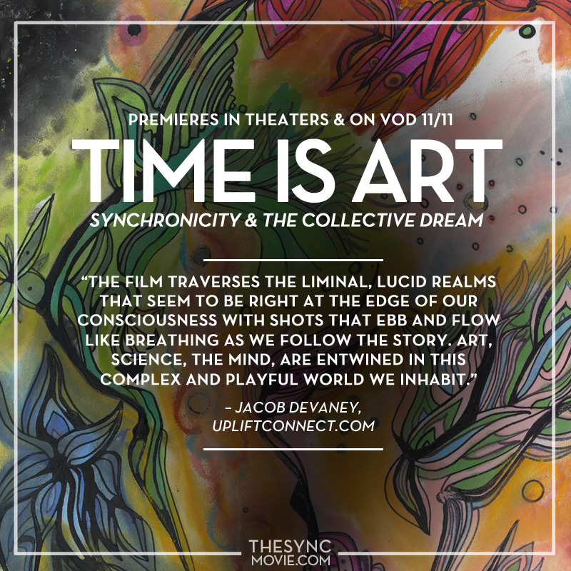 time is art, film, movie, documentary, the sync movie
