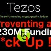 tezos ico crowdsale problem