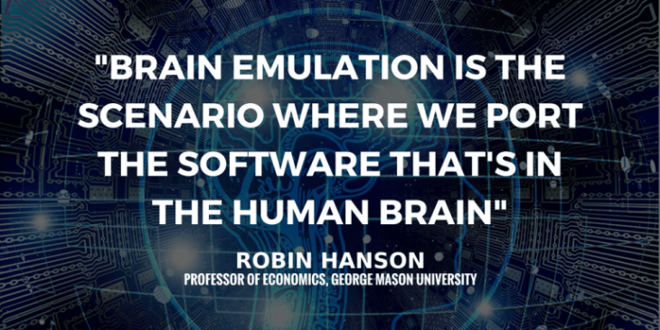 Inside the Mind of a Human Artificial Intelligence with Professor Robin Hanson
