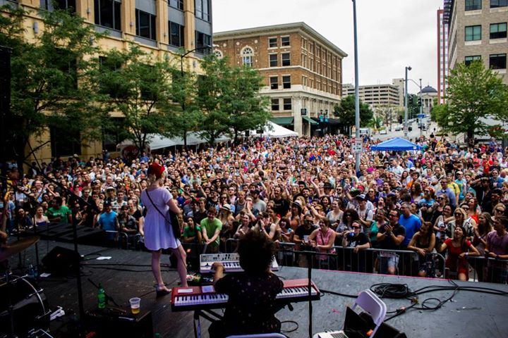 The 80/35 Music Festival marks one of many new events Downtown which bring residents and tourists to western downtown. (Photo courtesy of everfest.com)
