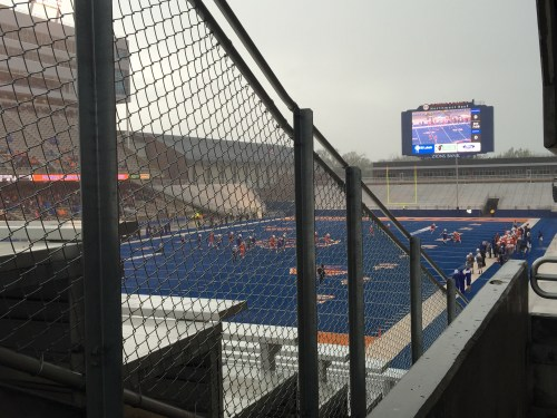 Boise State 2015 Spring game - LVE's debut on the Blue
