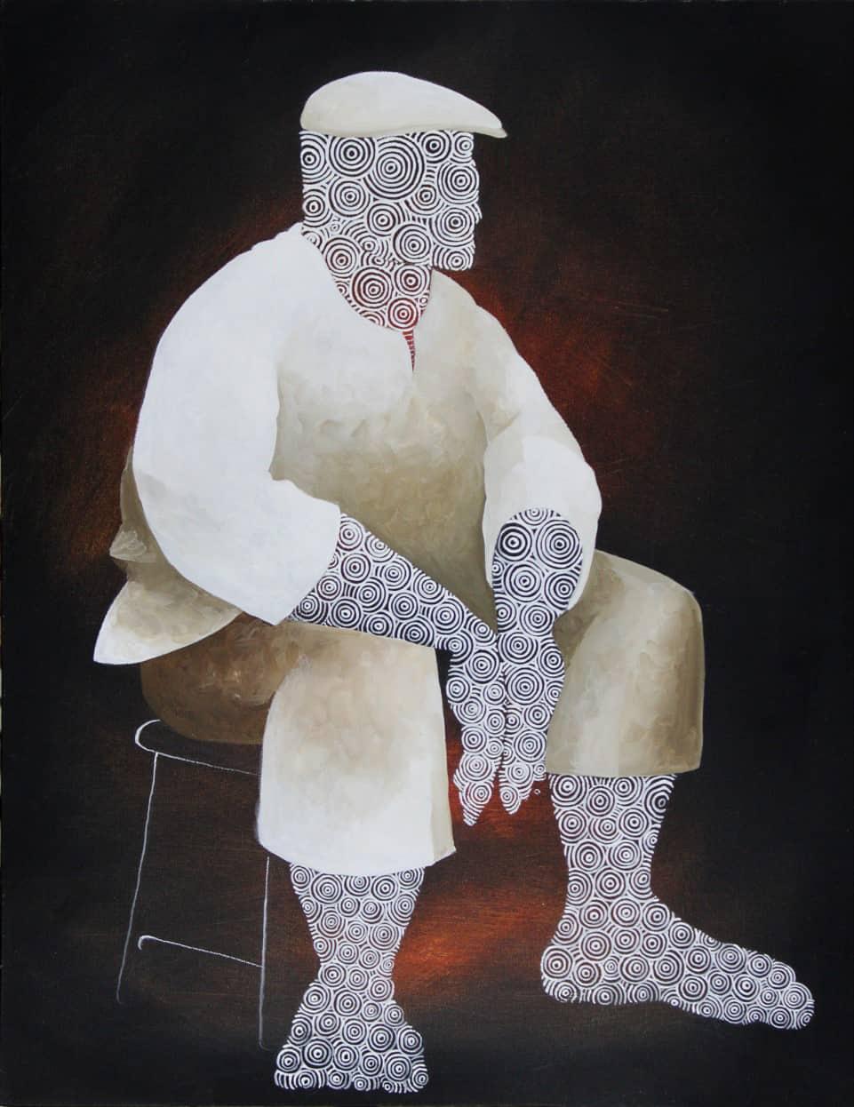 Daniel Minter, Waiting for Omolu