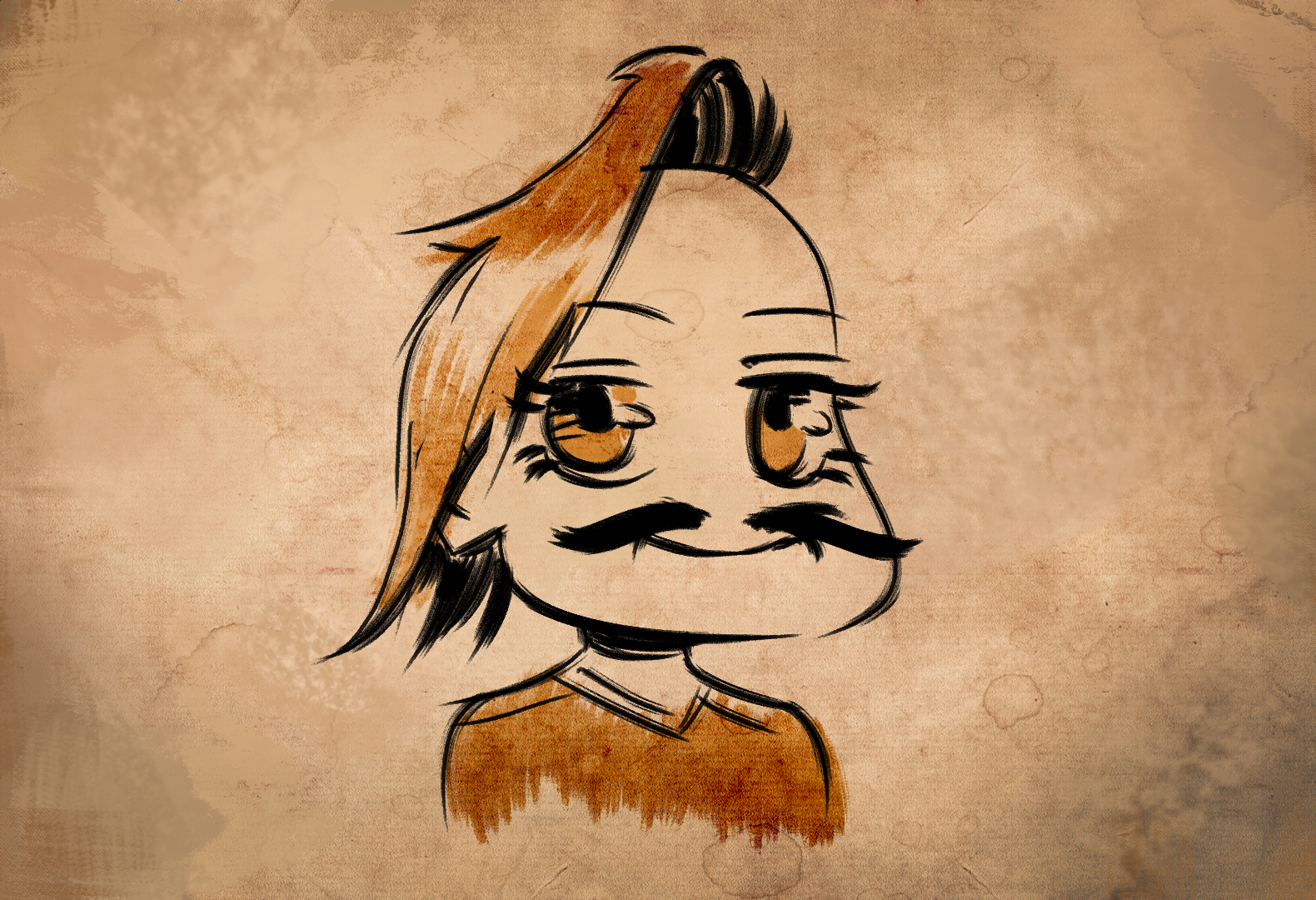 Felipe de Barros — Chibi Mustache Benji (fan request on stream)