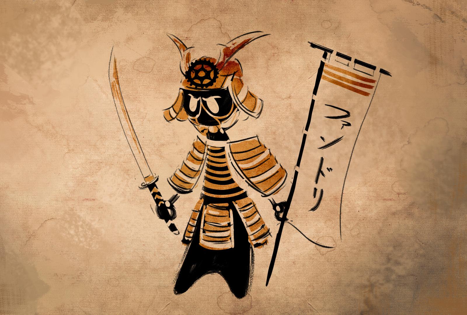 Felipe de Barros — Samurai taleoid