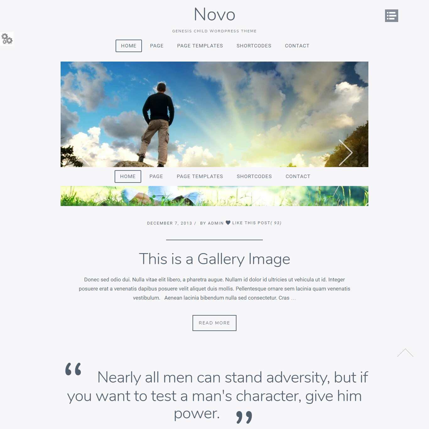 Get a free website with Novo by zigzagPress on Talenthost