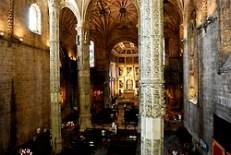 Inside the Church of Santa Maria