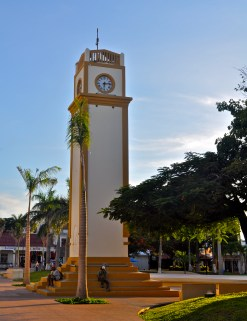 Clock Tower in the Town Sqaure