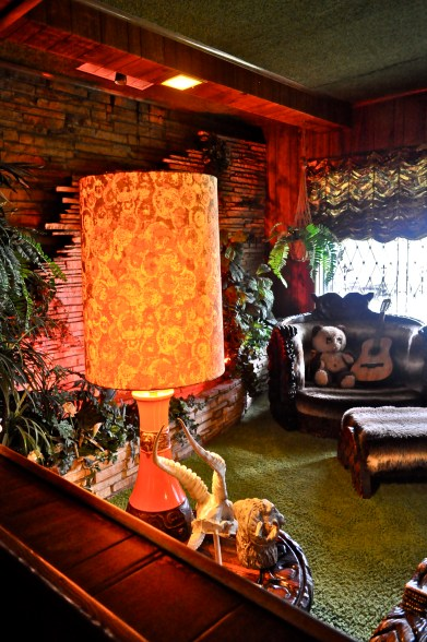 The famous Jungle Room