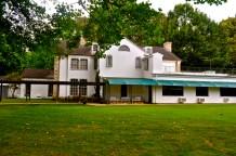 The back of Graceland
