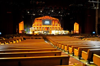 The Grand Ole Opry stage!