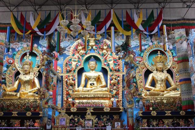 Buddhist Monastery,Coorg