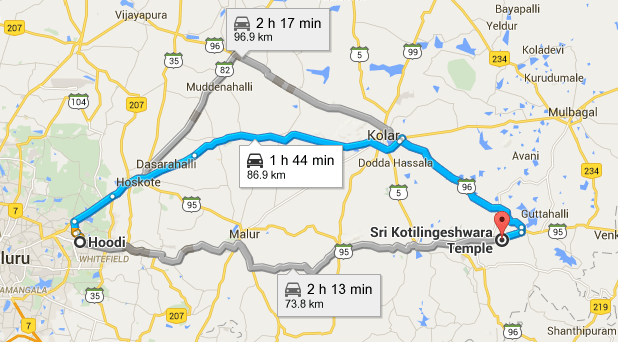Day Trip From Bangalore To Kotilingeshwara Temple