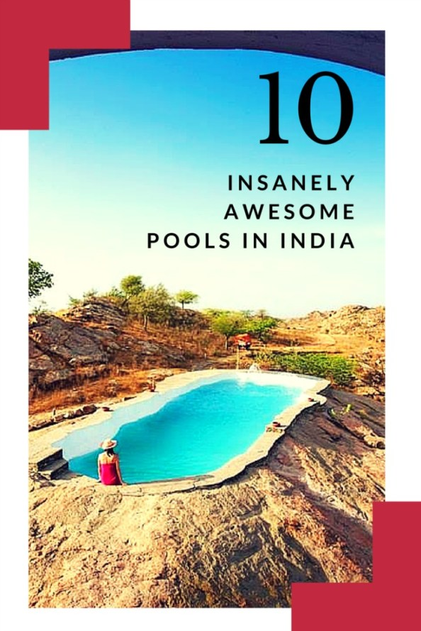 hotels with best pool india