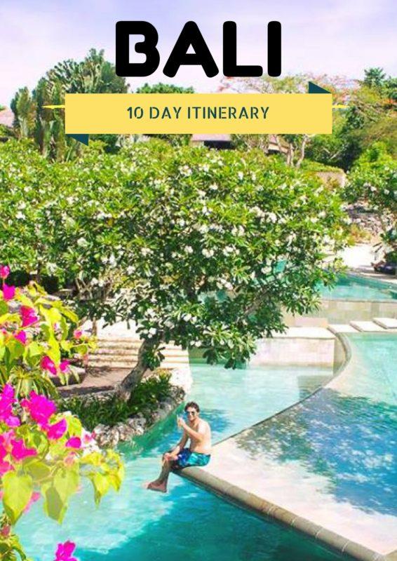 10 Days Bali Itinerary
