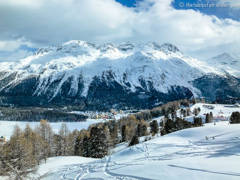Top Things To Do in St. Moritz - View from the cable car