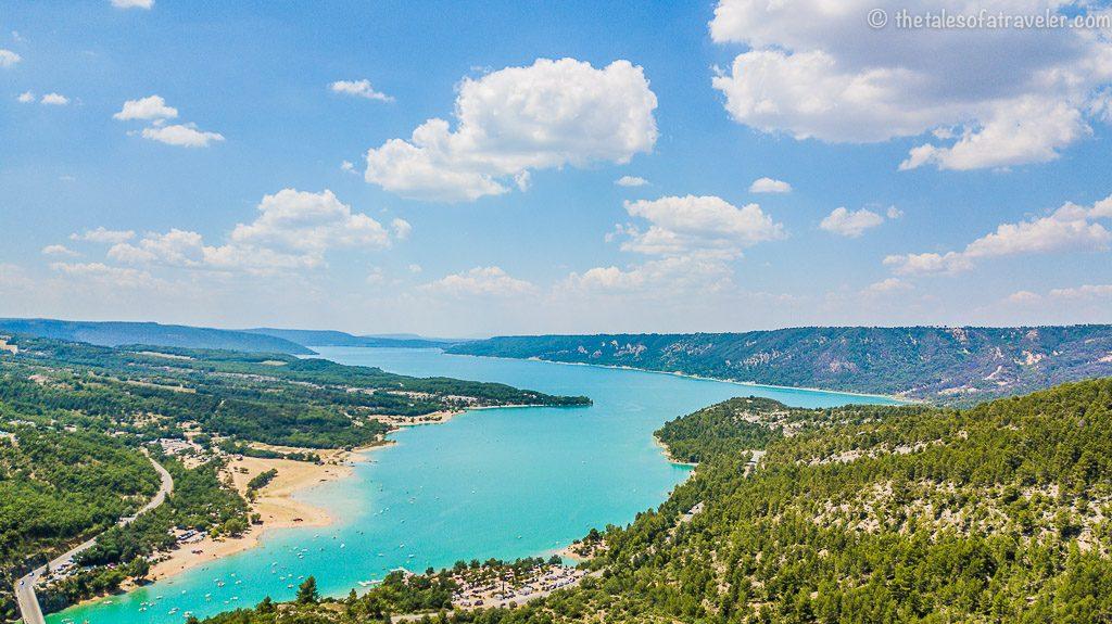 St. Croix Lake, Provence France