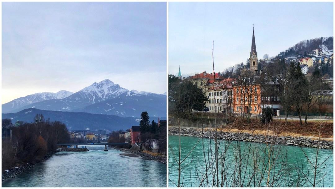 River Inn, Innsbruck, Austria