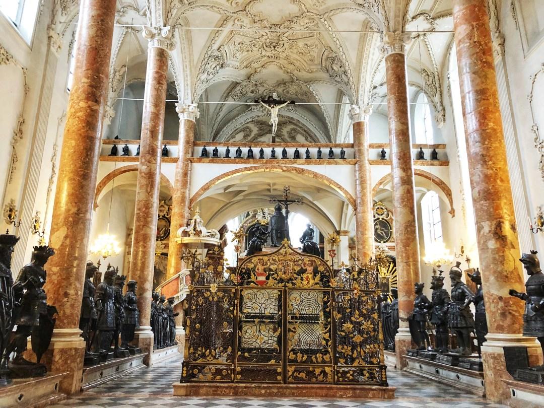 Court Church, Innsbruck Interior
