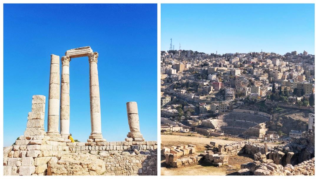 Jordan Road Trip Itinerary - Amman Citadel