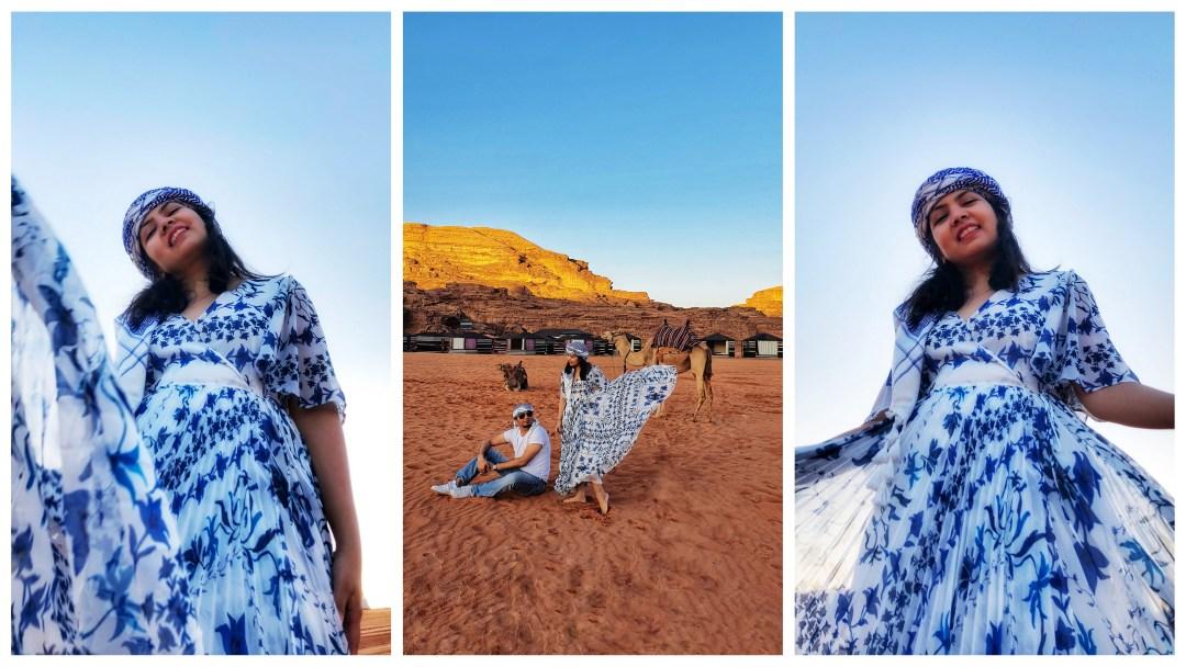 Couple Photo Shoot in Desert