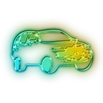 112527-glowing-green-neon-icon-transport-travel-transportation-car5