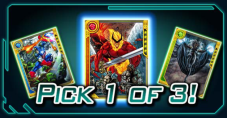 pick 1of3