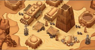 Star Wars: Galactic Defense - Tatooine Scene