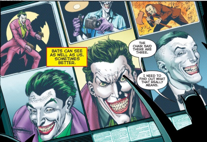The first Joker is the one on the left.