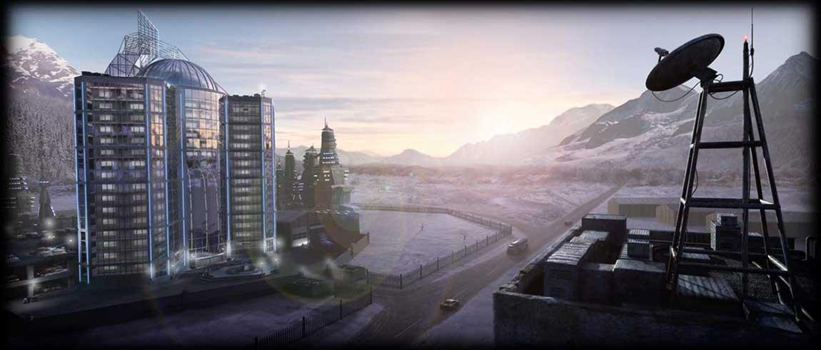 science fiction web comic alaska building