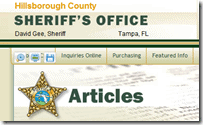 Hillsborough County Sheriff's Office - New Hillsborough County Crime Map