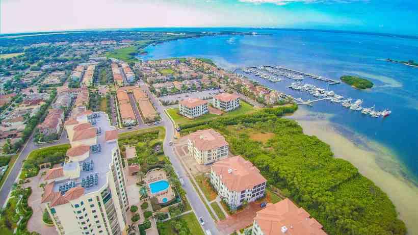 Aerial View Casa Bahia Condos