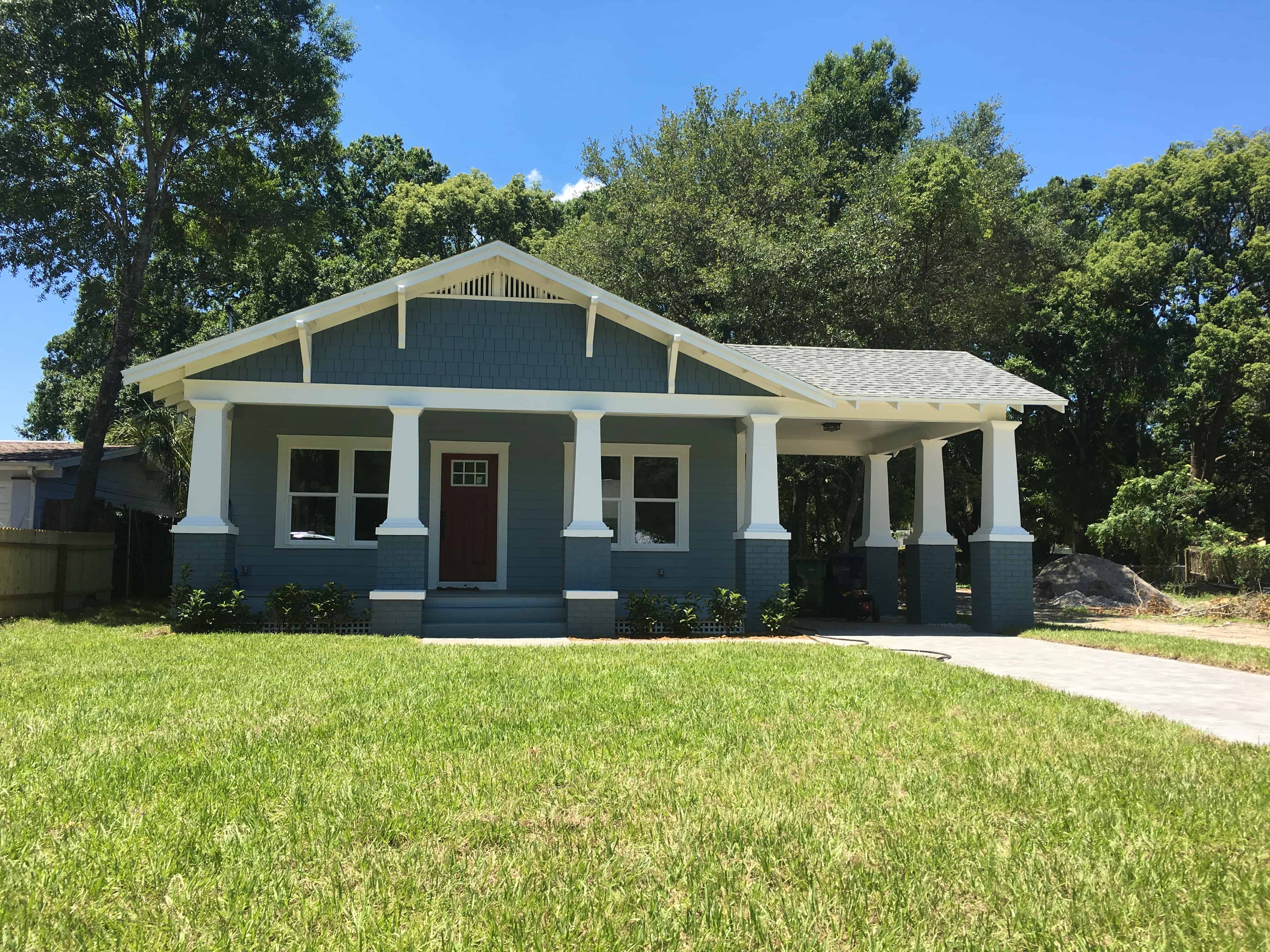 New construction homes in tampa heights seminole heights for Craftsman homes for sale in florida