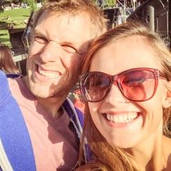 selfie of a happy couple