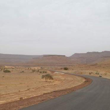 Traveling Mauritania by car