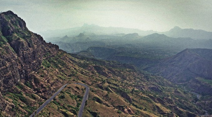 Cape Verdean landscape- the view from Sierra Malagueta