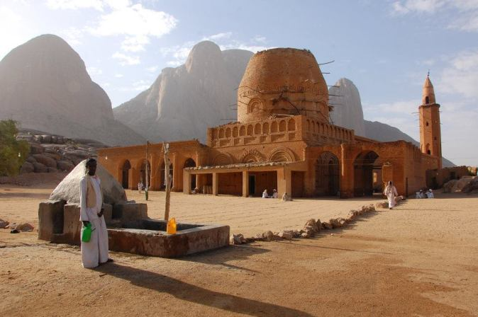 The mosque in Kassala, Sudan