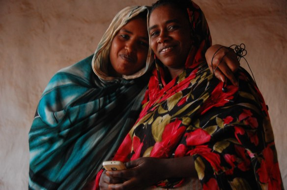 two Nubian women in Sudan