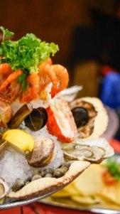 sea fruit dish