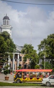 Main Square in Paramaribo