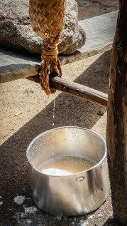 Making cassava bread in Suriname