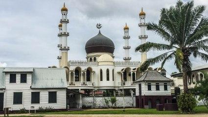 A mosque in Paramaribo, Suriname