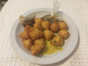 food from Trinidad Pholourie