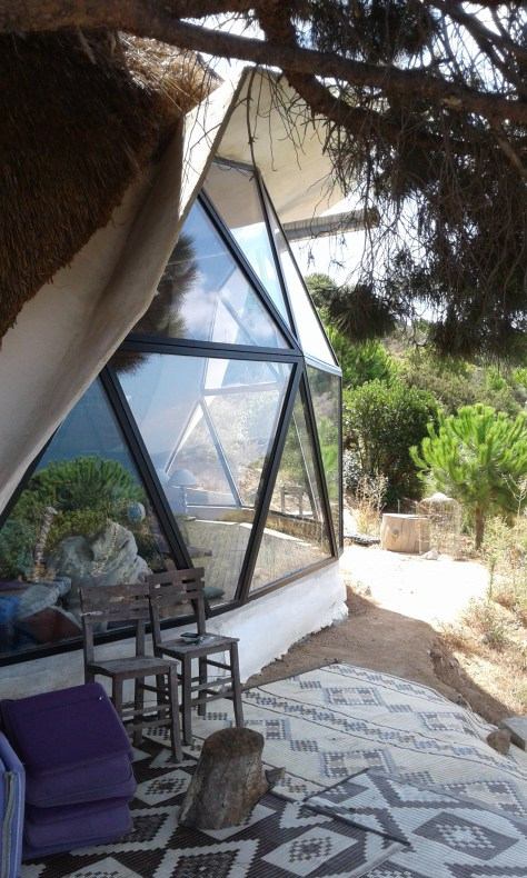 Permaculture dome in Turkey