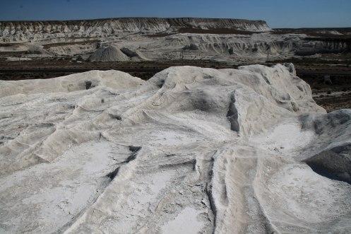 Stone desert in Kazakhstan