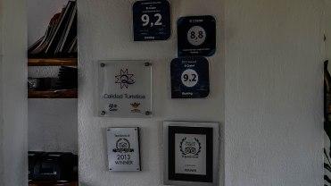 restaurant review signs of the restaurant El Mirador Del Crater