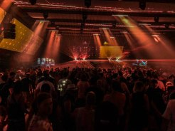 German Techno Festival with many dancing people